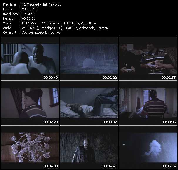 Makaveli video screenshot