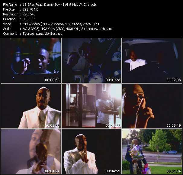 2Pac (Tupac Shakur) Feat. Danny Boy video screenshot
