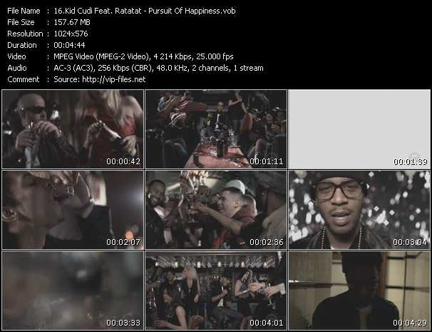 Kid Cudi Feat. Ratatat video screenshot