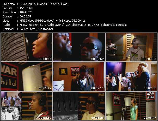 Young Soul Rebels video screenshot