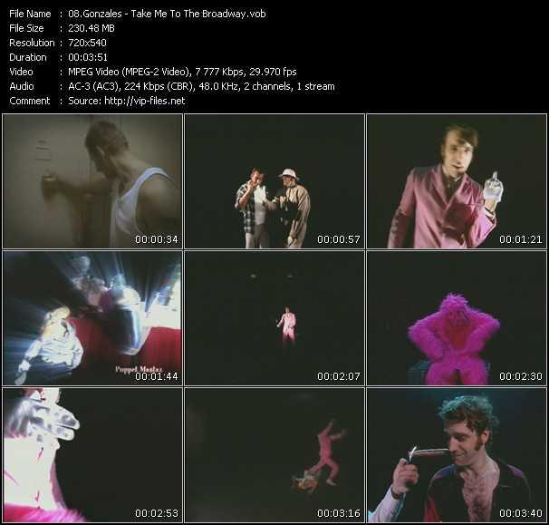 Gonzales video screenshot