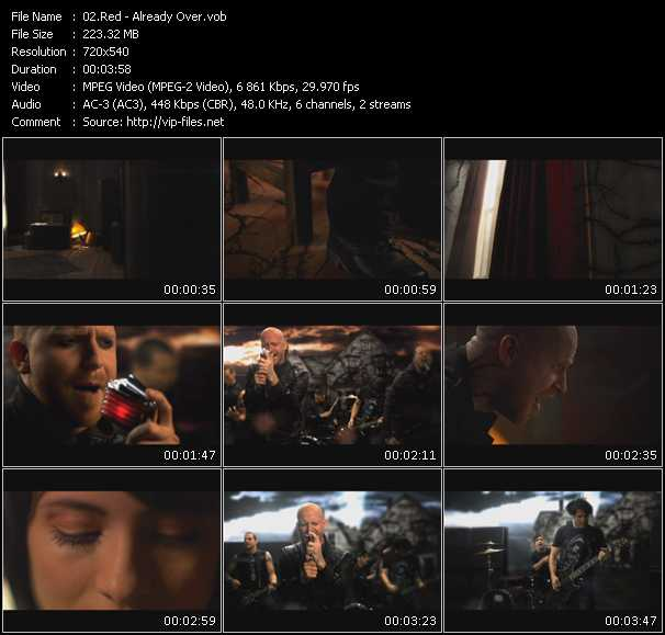 Red video screenshot