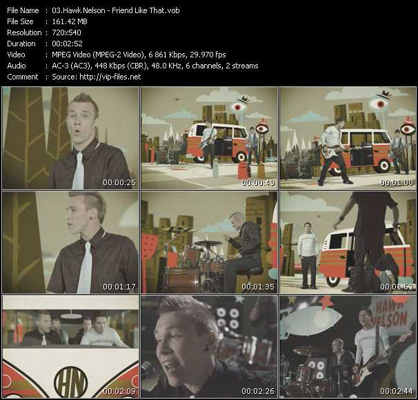 Hawk Nelson video screenshot