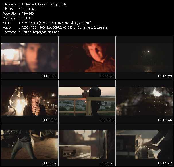 Remedy Drive video screenshot