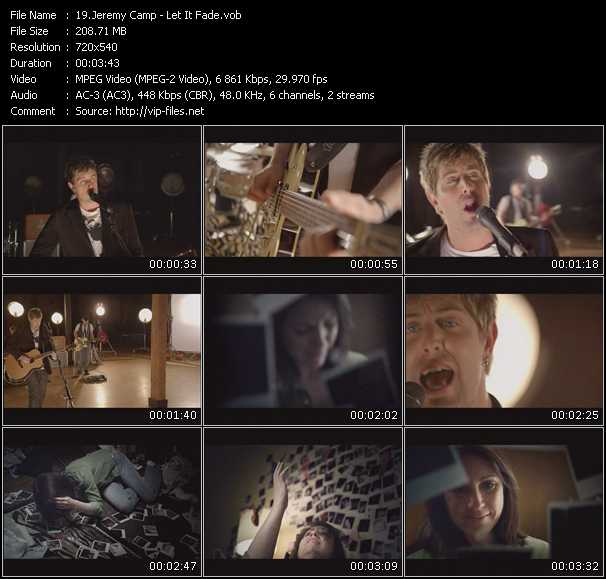 Jeremy Camp video screenshot