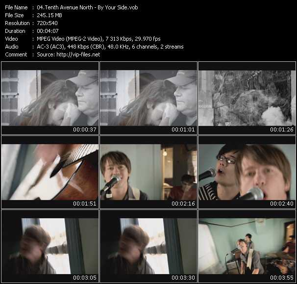 Tenth Avenue North video screenshot