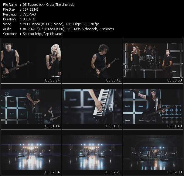 Superchick video screenshot