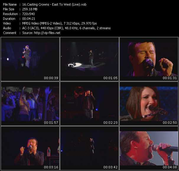 Casting Crowns video screenshot