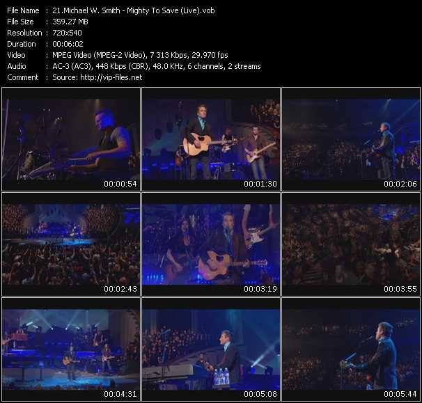 Michael W. Smith video screenshot