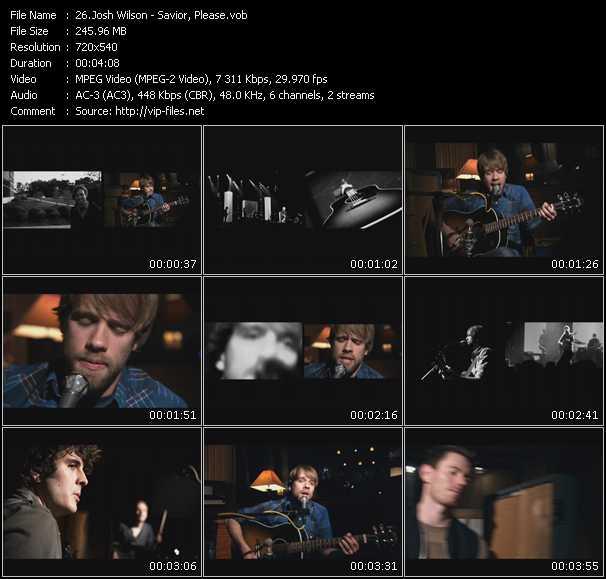Josh Wilson video screenshot