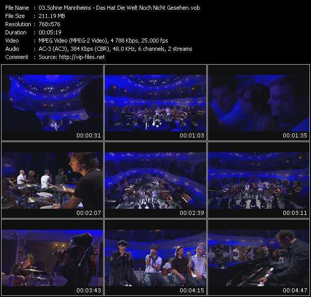 Sohne Mannheims video screenshot