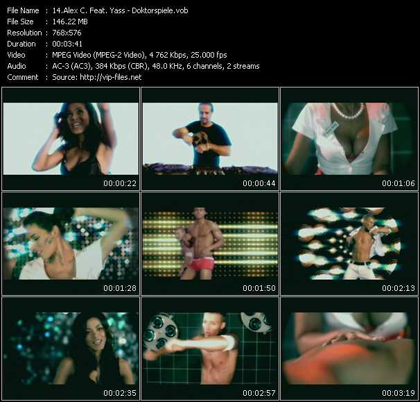 Alex C. Feat. Yasmin K. (Y-Ass) video screenshot