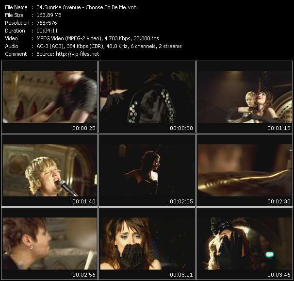 Sunrise Avenue video screenshot