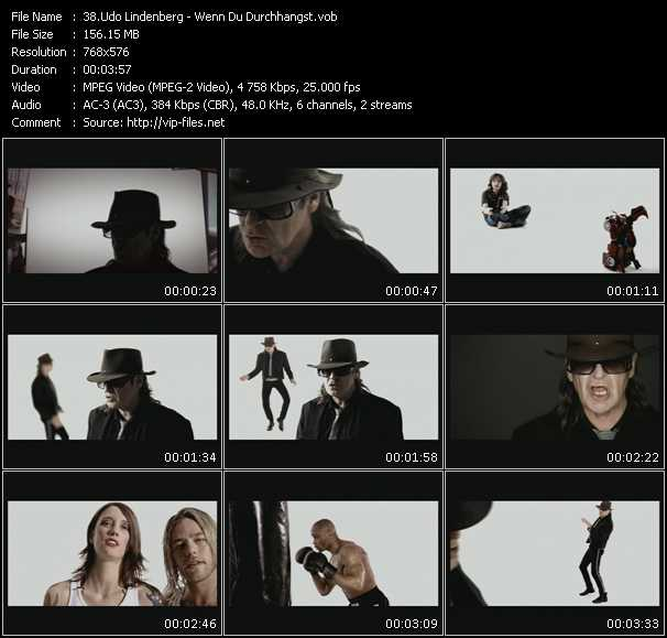 Udo Lindenberg video screenshot