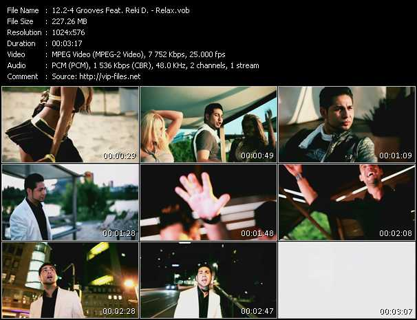 2-4 Grooves Feat. Reki D. video screenshot