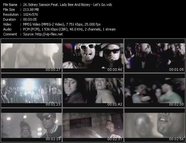 Sidney Samson Feat. Lady Bee And Bizzey video screenshot