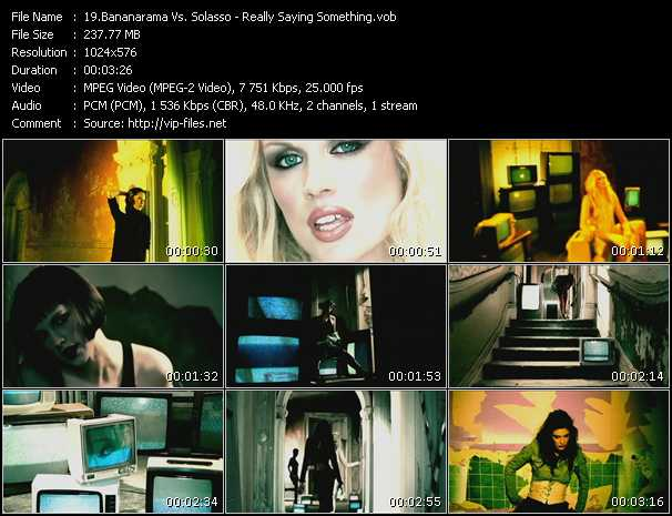Bananarama Vs. Solasso video screenshot
