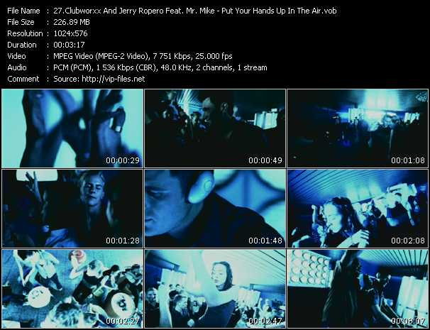 Clubworxx And Jerry Ropero Feat. Mr. Mike video screenshot