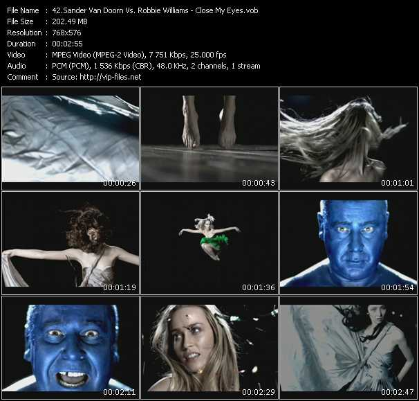 Sander Van Doorn Vs. Robbie Williams video screenshot