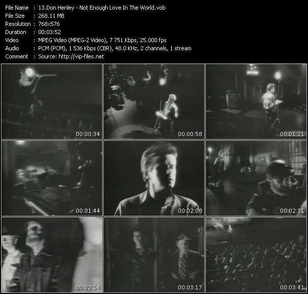 Don Henley video screenshot