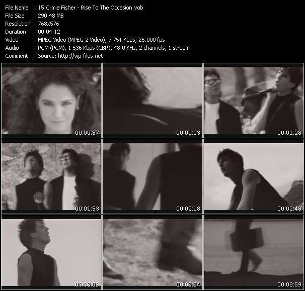 Climie Fisher video screenshot