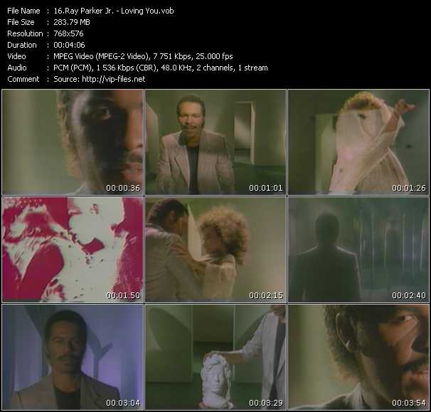 Ray Parker Jr. video screenshot