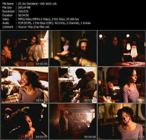 Joy Denalane video screenshot