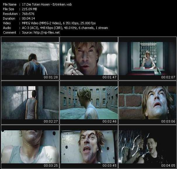 Die Toten Hosen video screenshot