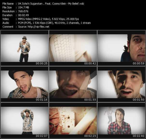 Syke 'N' Sugarstarr Feat. Cosmo Klein video screenshot