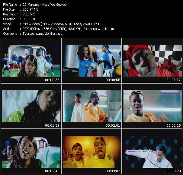 Makoma video screenshot