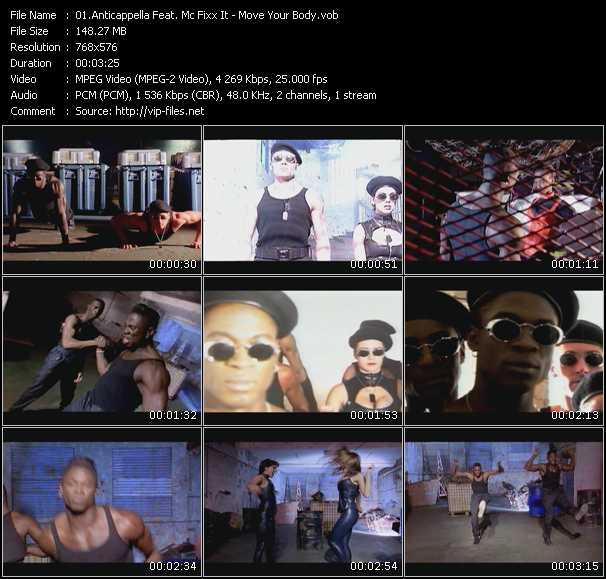 Anticappella Feat. Mc Fixx It video screenshot
