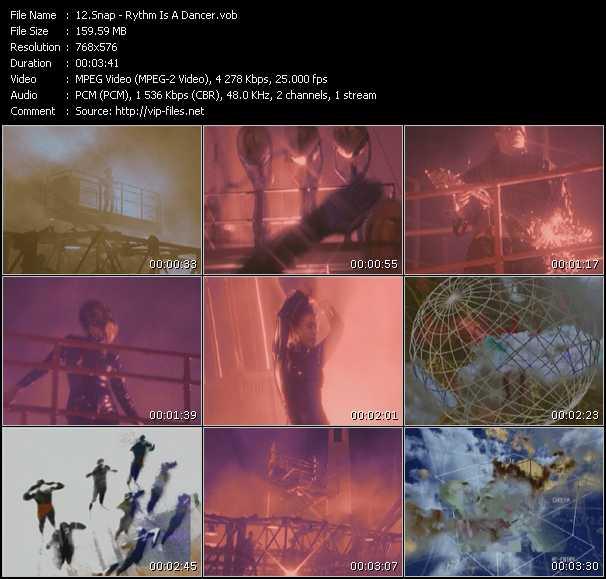 video Rythm Is A Dancer screen