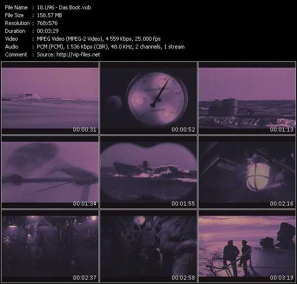 U96 video screenshot