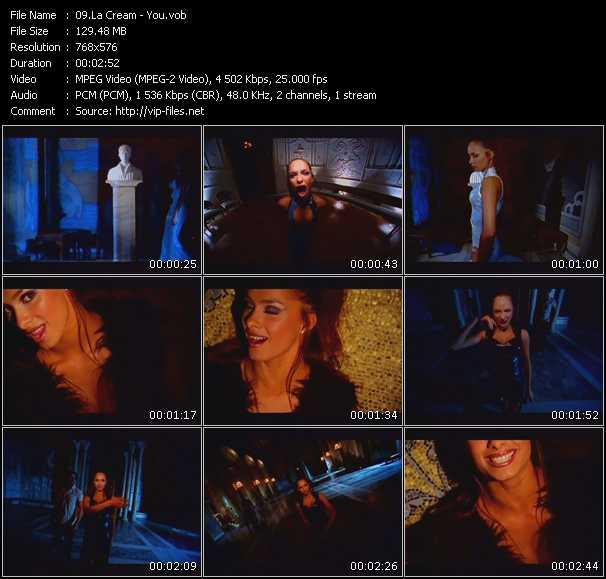 La Cream video screenshot