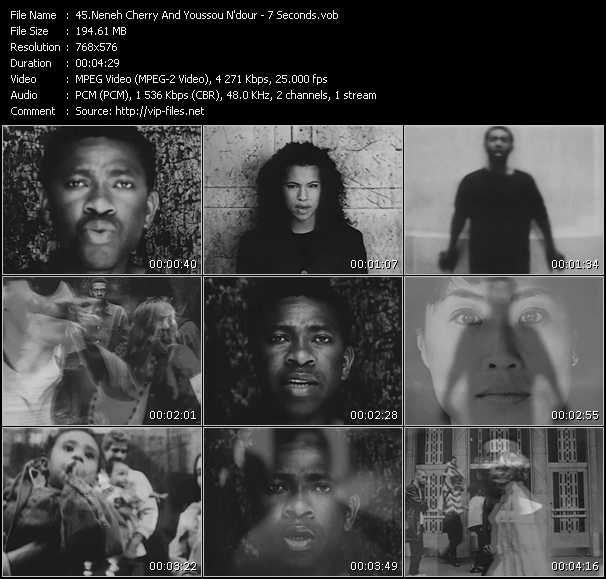 Neneh Cherry And Youssou N'Dour video screenshot