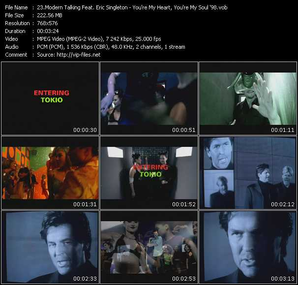Modern Talking Feat. Eric Singleton video screenshot