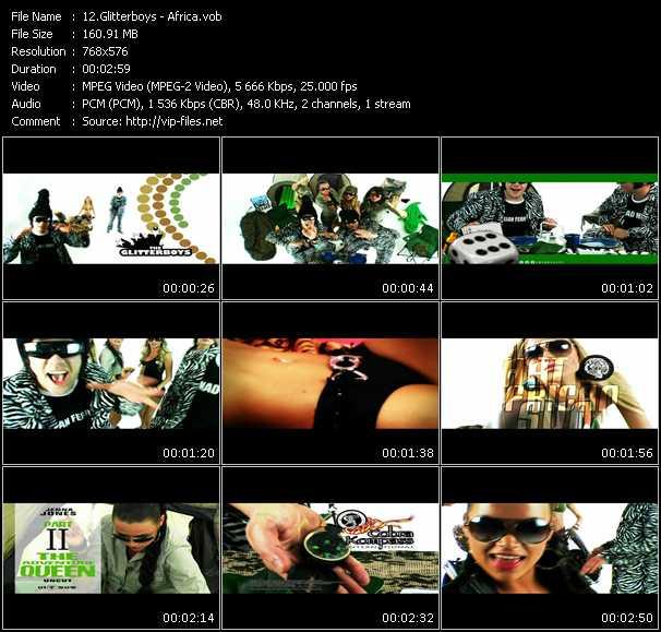 Glitterboys video screenshot