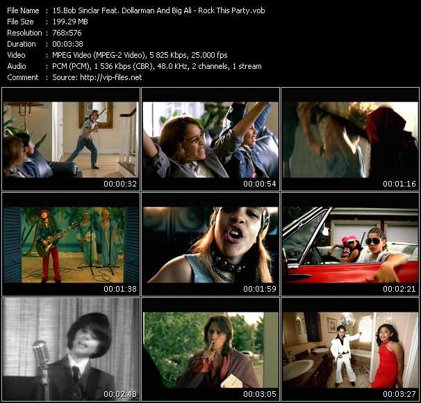 Bob Sinclar Feat. Dollarman And Big Ali video screenshot