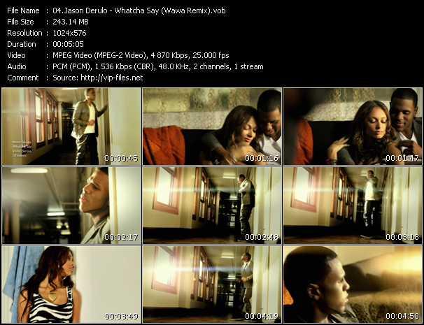 video Whatcha Say (Wawa Remix) screen