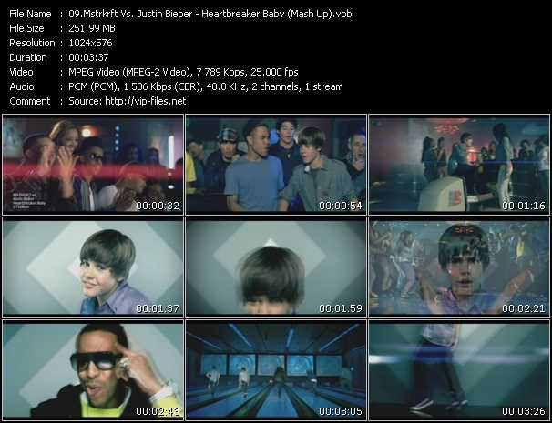 Mstrkrft Vs. Justin Bieber video screenshot