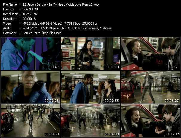 video In My Head (Wideboys Remix) screen