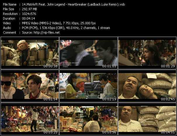 Mstrkrft Feat. John Legend video screenshot