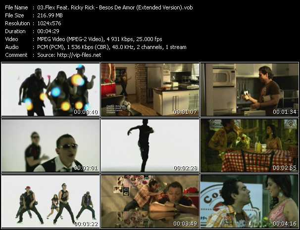 Flex Feat. Ricky Rick video screenshot