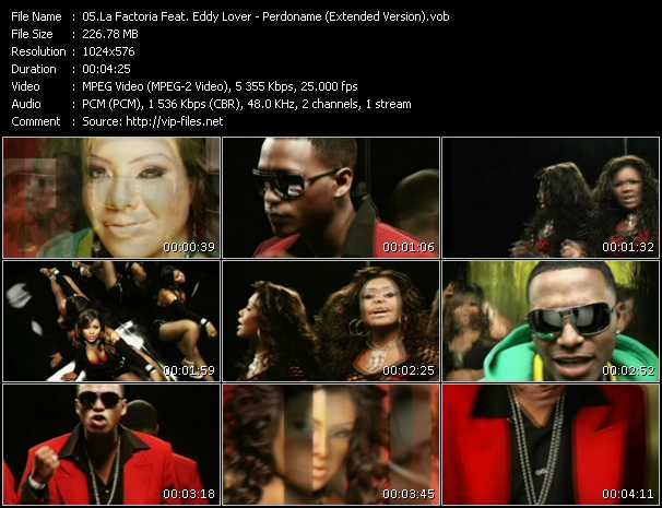 La Factoria Feat. Eddy Lover video screenshot