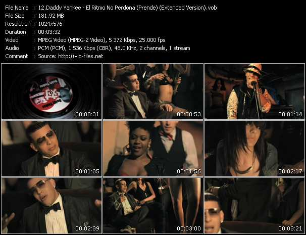 video El Ritmo No Perdona (Prende) (Extended Version) screen