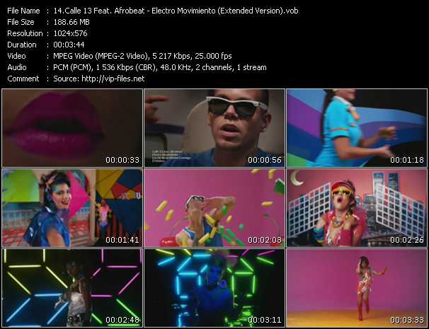 Calle 13 Feat. Afrobeat video screenshot