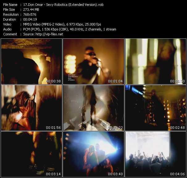 video Sexy Robotica (Extended Version) screen