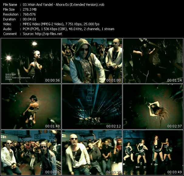 video Ahora Es (Extended Version) screen