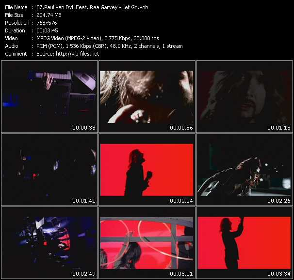 Paul Van Dyk Feat. Rea Garvey video screenshot
