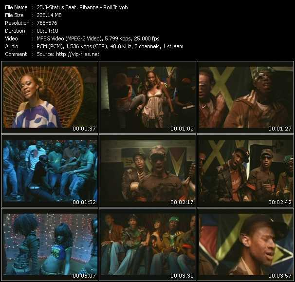 J-Status Feat. Rihanna video screenshot